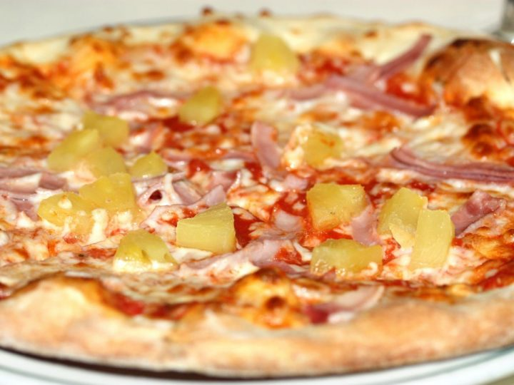Vznik pizze Havaj
